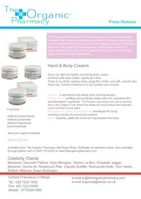 Hand & Body Creams