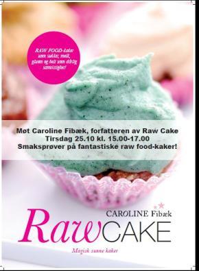invitasjon rawcake