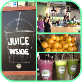 Juice, Smoothie, kaffe eller salat, du finner det på FRESKO!