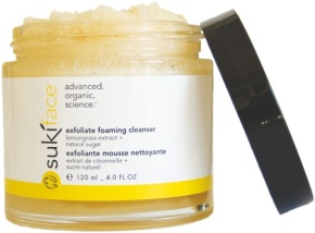 exfoliate foaming cleanser