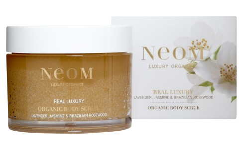 real luxury body scrub&box